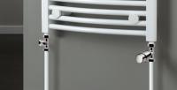 HSK Seitenanschluss-Set, inklusive Design-Thermostatregler, chrom