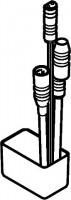 Hansa Einbaumodul 5836 zur Netzversorgung von Batterie-Elektronikarmaturen