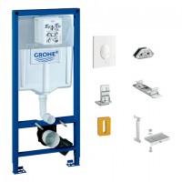 Grohe Starter-Set Rapid Pro für WC 37447, für Vorwand an Massivwand