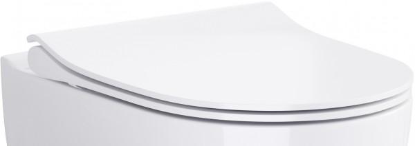 Neuesbad Serie 100 WC-Sitz slim, weiss, mit Absenkautomatik, abnehmbar