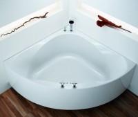 Hoesch Badewanne Spectra Eck 1400 mit loser Schürze