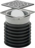Viega Bodenablauf Advantix 4937.1 in DN100 Kunststoff grau