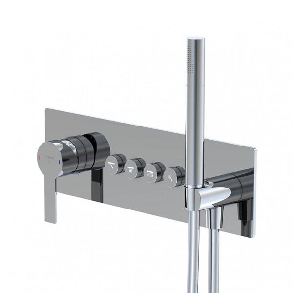 """Steinberg Serie 390 Unterputz-Einhebelmischer 3/4"""" für 4 Verbraucher, 3902242, 390.2242"""