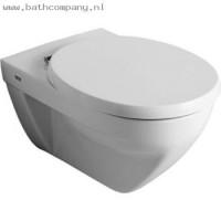 Keramag Vivano Flachspuel-WC, wandhaengend 207400, weiss mit Keratect