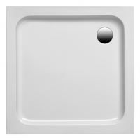 Brausetasse Samos 800x750x60 mm, weiß