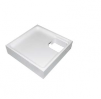 Neuesbad Wannenträger für Keramag iCon 90x90x5 Viertelkreis
