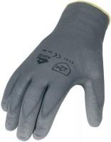 Asatex Aktiengesellschaft Handschuhe PU Gr.8 grau Nylon Feinstrick m.Strickbund,
