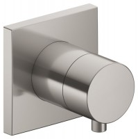 Keuco 2-Wege Umstellv. IXMO Comfort 59556, eckig, Nickel gebürstet, 59556051002