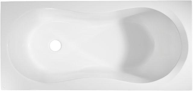 Combi Körperform-Badewanne Aqua 1700mm weiss K621901