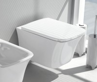 ArtCeram Cow Wand-Tiefspül-WC, B: 380, T: 520 mm, weiss matt