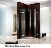 HSK Atelier Pur AP.40 Runddusche 3-teilig, 1 Drehtür und 2 Seitenteile