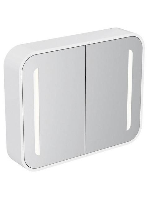 Spiegelschrank Mit Licht Und Ablage : dea mit licht b 800 t 150 h 650mm spiegelschrank mit licht innen und
