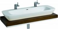 Keramag Waschtisch-Platte Silk 816320 Ausschnitt mittig, B: 1200, H: 100, T: 470 mm, 816320000