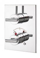 IB Love Me Unterputz Thermostatarmatur mit 5-Wege-Umstellung, inklusive Einbaukörper