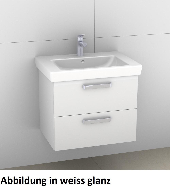 Image of Artiqua 414 Waschtischunterschrank mit 2 Auszügen, passend 414-WU2L-V67-7161-171