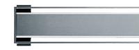 I-DRAIN Rostabdeckung Plano matt, 120 cm,Edelstahl,ABS Kunstoff