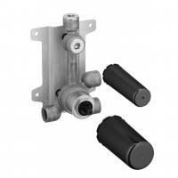 Dornbracht Brause-Unterputz-Einhandbatterie Abgang oben, Bausatz Vormontage