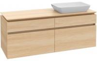 Villeroy & Boch Waschtischunterschrank Legato B23900DH, B:1600, H:380, T:500mm, Glossy White