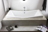 Hoesch Badewanne Foster 1800x800, weiß