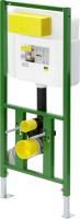Viega WC Element Viega Eco Plus 8161.2, in 980mm Stahl grün