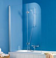 HSK Exklusiv Badewannenaufsatz 2-teilig, 114 cm