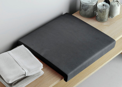 Neutrale Artikel Sitzkissen, schwarz, 077-SBK-01