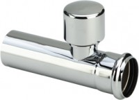 Viega Verlängerungsrohr 5694.5, in 32x125mm Messing verchromt