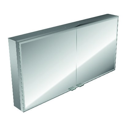 asis LED-Lichtspiegelschrank Prestige Aufputz, 1187 mm, mit Radio, Farbwechsel 989706032