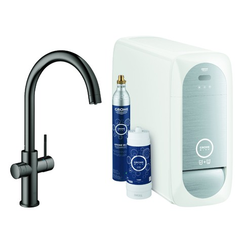 GROHE Blue Home Starter Kit 31455 Bluetooth/WIFI C-Auslauf hard graphite, 31455A01