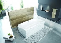 Hoesch Badewanne Thasos Rechteck 2000x1000, pergamon, 3742.030
