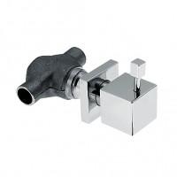 KAJA-Aquadrat Unterputzventil 15mm kompl mit keramischen Dichtscheiben, chrom