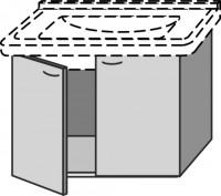 Sanipa Waschtischunterschrank mit Türen 2day SX20945, Noce-Ideale, H:475, B:650, T:470 mm
