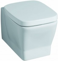Keramag WC-Sitz Silk 572620, mit Absenkautomatik, 572620000, weiss