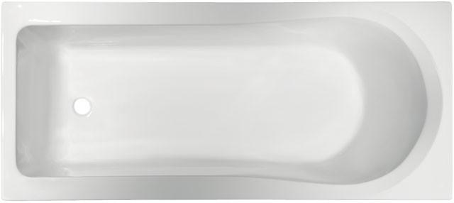 Körperform-Badewanne Aqua 1700mm weiss K621301