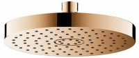 Keuco Kopfbrause Elegance 51686, rund, 180 mm, Bronze poliert, 51686020100