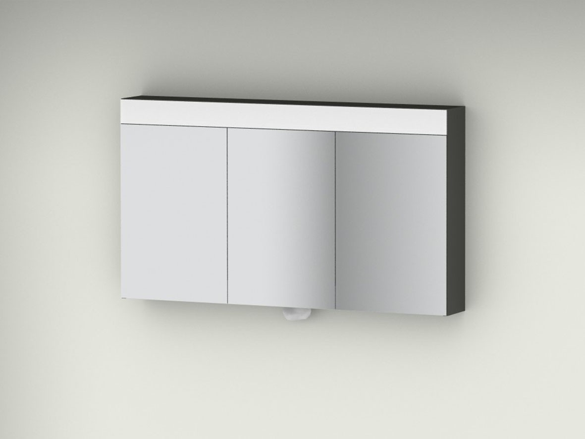 spiegelschrank mit beleuchtung und steckdose. Black Bedroom Furniture Sets. Home Design Ideas