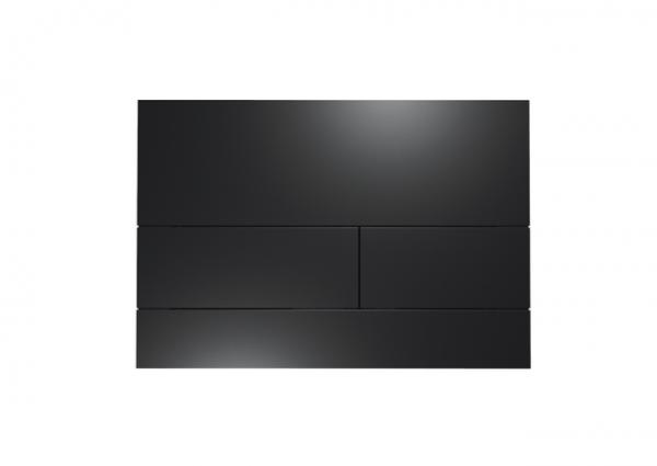 TECEsquare WC-Betätigungsplatte Metall 2 Schwarz matt, 9240833