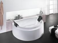 Hoesch Badewanne Aviva Halbrund 1800x1185 mit