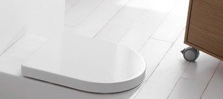 Concept WC-Sitz mit Deckel, mit Absenkautomatik, weiss SA020