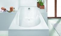 Hoesch Badewanne Regatta 1700x800 mit Duschzone,