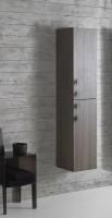 Globo 4ALL Hochschrank mit 2 Türen, B:35, T:30, H:160cm, MDC001, weiss glänzend (Lack)
