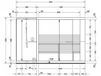 Duravit Sauna Inipi Ama 3350x1170x2220mm mit