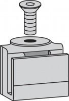 Mepa Duschrinne Nivellier-, schrauben Ablaufrost Plan Typ1, 592013