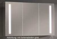 Sanipa Alu LED Spiegelschrank Reflection, AU3179Z, Breite:1300mm, Höhe:747mm, Tiefe:172mm