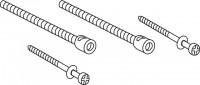 Mepa Verlängerungsset 80 mm, UPSK SC A12 - E11 - E21 - E31, 590938
