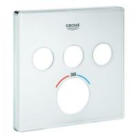 GROHE Rosette 49043 für SmartControl UP-THM eckig mit 3 ASV moon white, 49043LS0