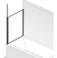 HSK Premium Softcube Seitenwand passend zu Softcube Badewannenaufsatz