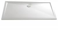 HSK Acryl Rechteck-Duschwanne super-flach 80 x 120 x 3,5 cm, ohne Schürze