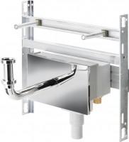 Viega Modul Waschtisch 8055.5, in 430mm Stahl verzinkt