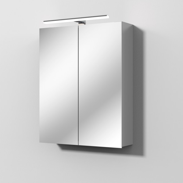 Sanipa Solo One LED Spiegelschrank, B:600, H:747, T:159mm